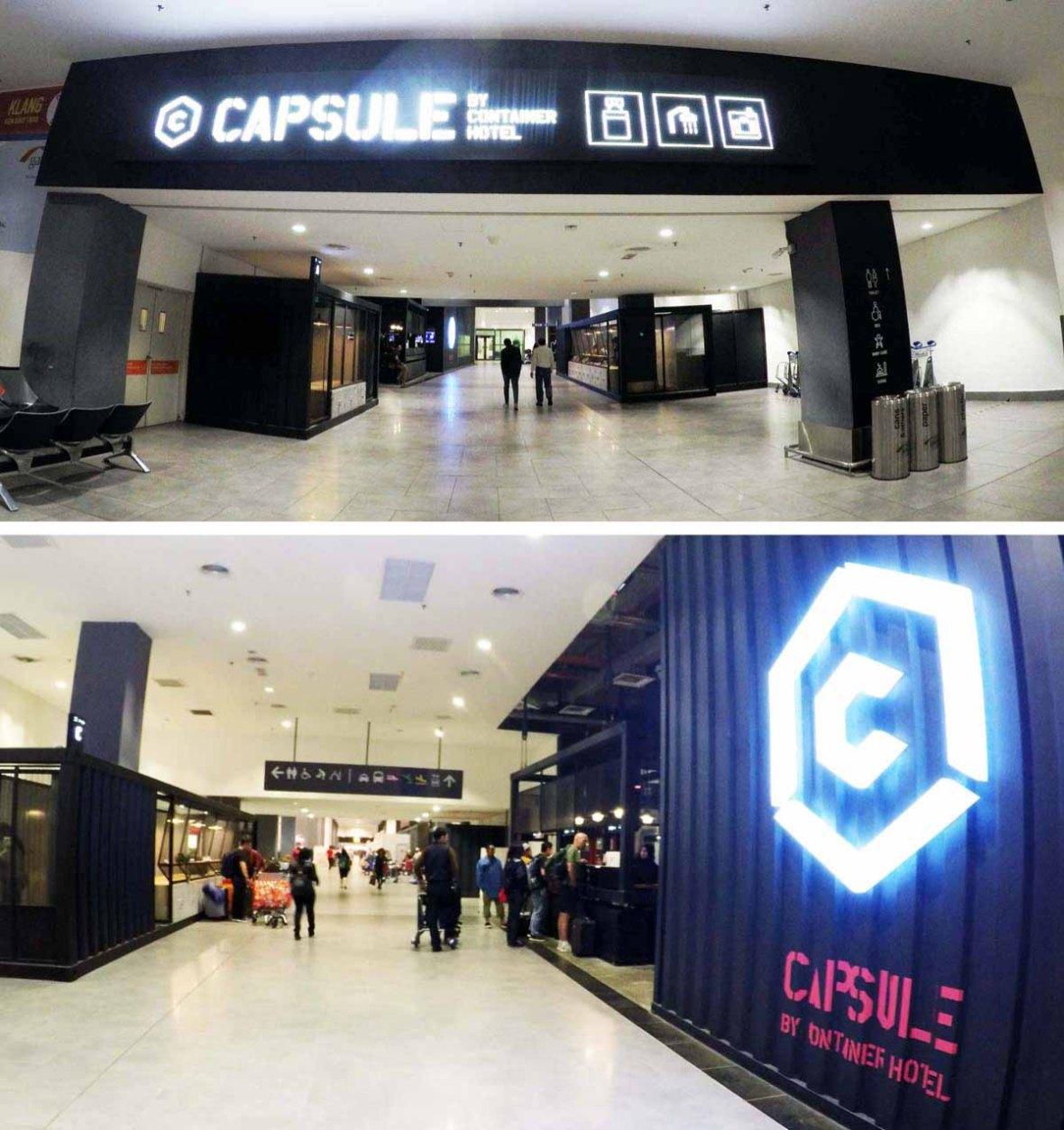 Kuala Lumpur Capsule Container Hotel Klia2 Violetology