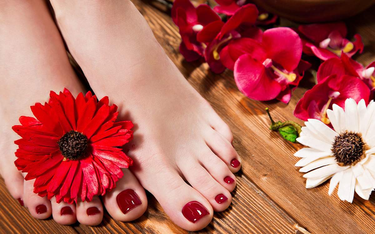 Manicure  Pedicure Services  Violet Nails Design