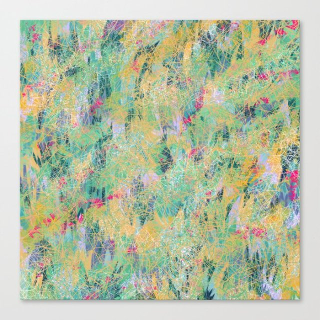 Shop Violet Roots - Abstract Painting - In and Out
