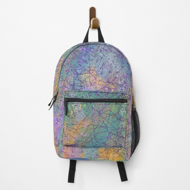Violet Roots - Abstract Backpack - Levanter