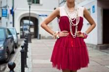 Sukienka Chicwish, zdjęcie z bloga : http://macademiangirl.blogspot.com
