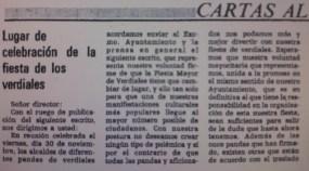 19841204 - Publicado. Fiesta Mayor 22 - 1
