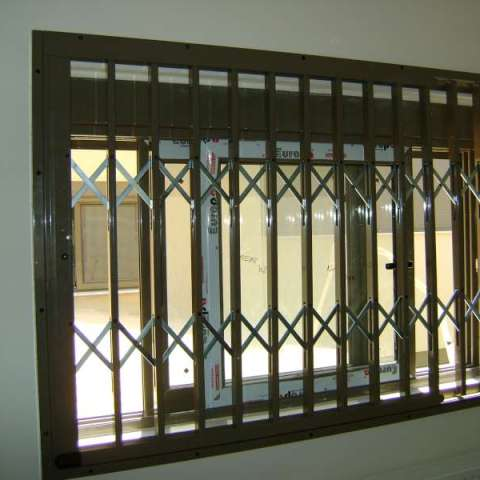 Security grilles for windows
