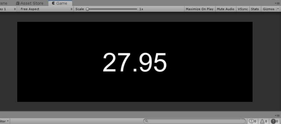 Unity timer
