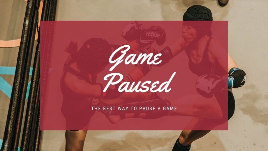 pause a game in Unity