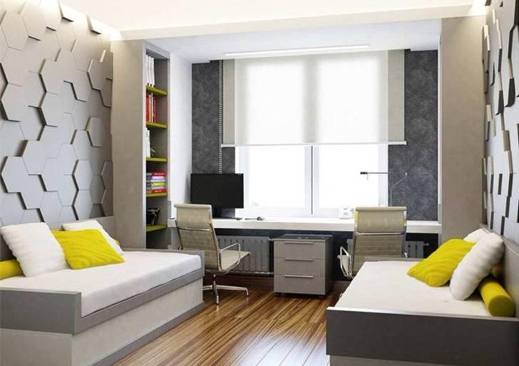 дизайн подростковой комнаты для мальчика в современном стиле 3