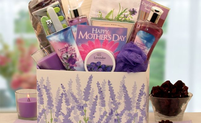 Mother S Day Moments Of Relaxation Lavender Spa Gift Box