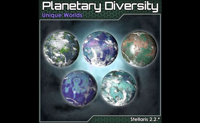 Mod Planetary Diversity Unique Worlds For Stellaris 2