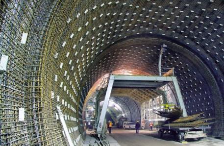 Für den Bau der Strecke wurden modernste Tunnel gebaut. Foto: DB AG