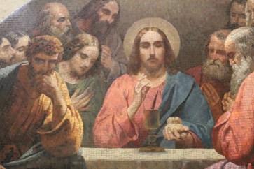 Jesus-Gemälde in der Isaaks Kathedrale