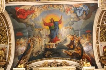 Deckengemälde in der Isaaks Kathedrale