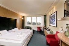 Bequeme Betten gehören zur modernen Ausstattung der Zimmer und Suiten