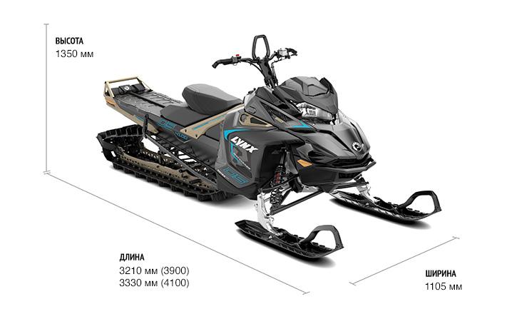 Снегоход BRP LYNX BOONDOCKER DS 3900 850 E-TEC — BRP Центр