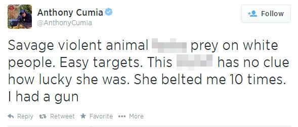 Shock jock fired for racist Twitter rant