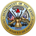 U.S. Department of the Army [DA] [Seal][1.5]