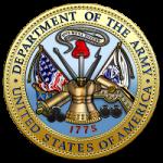 U.S. Department of the Army [DA] [Seal][1.5]