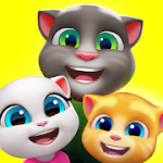 My Talking Tom Friends mod apk v4.4 and up