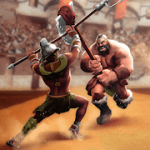 Gladiator Heroes Clash Fighting and strategy game mod apk (Click Speed X2/Anti Ban) v3.4.1
