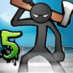 Anger of stick 5 zombie mod apk (Free Shopping) v1.1.16