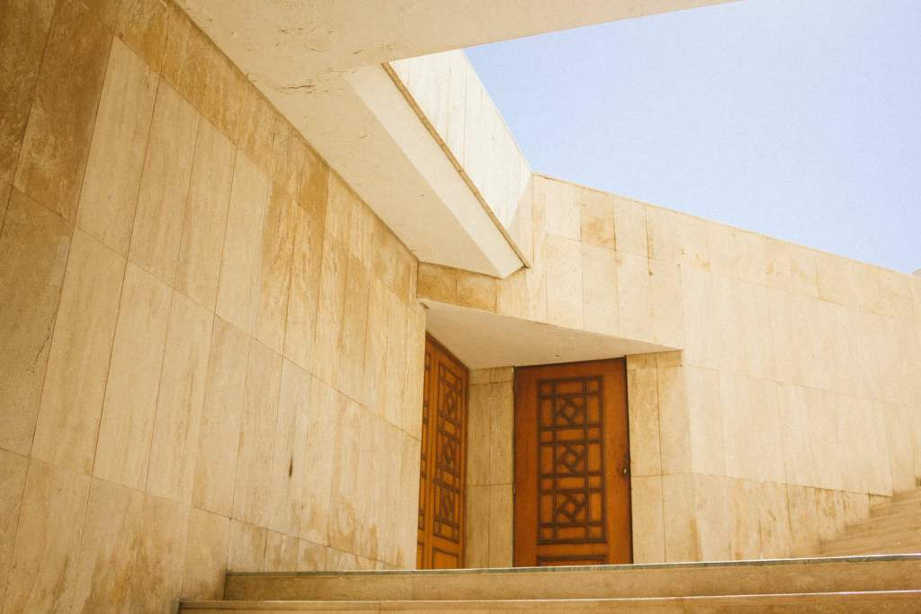 Casablanca mosque architecture by Vipasana Roy