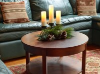 Living Room Table Centerpiece For Christmas