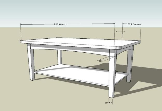 simple coffee table plan | coffee tables
