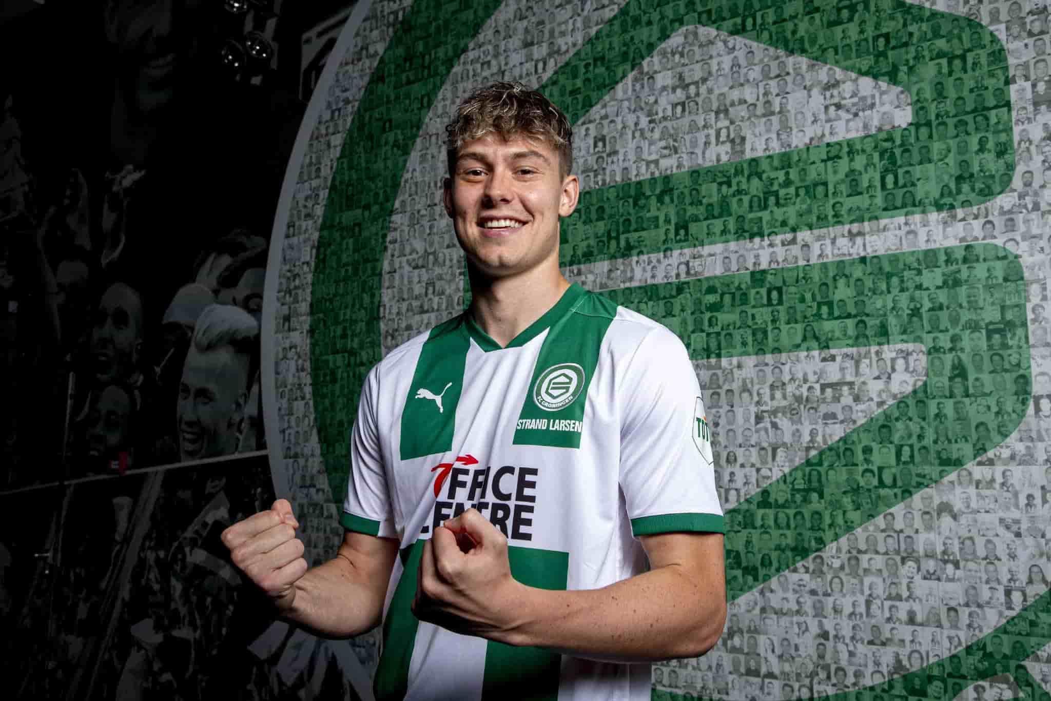 Jørgen Strand Larsen, la perla del FC Groningen - VIP Deportivo