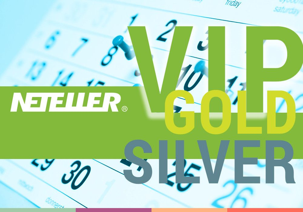 NETELLER VIP Silver или Gold на весь 2019 год