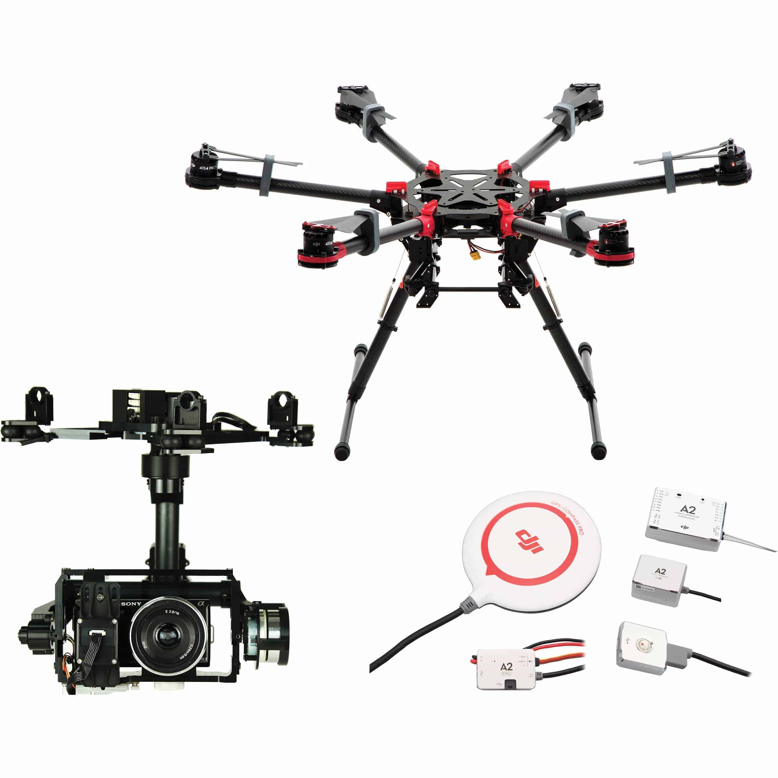 Dji Spreading Wings S900 Viper Drones