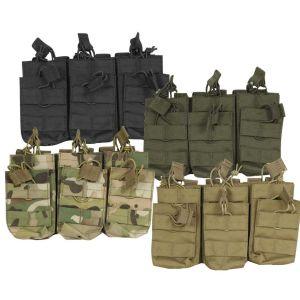 Tri dvojne torbice za nabojnike