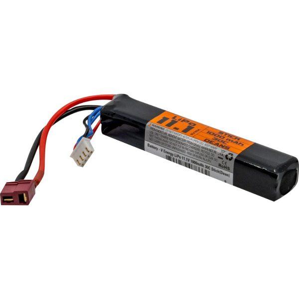 Valken baterija LiPo 11.1V 1000mAh 30c Stick (Dean)