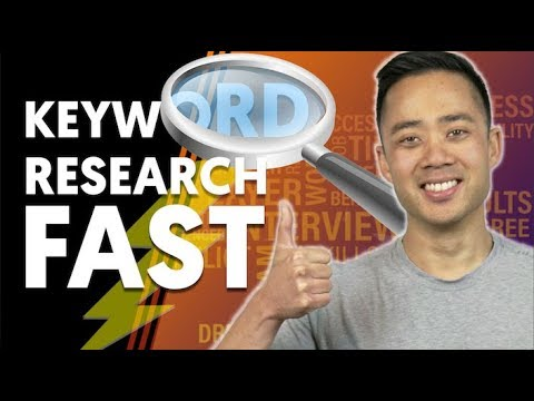 4 Ways to Speed Up Your Keyword Research (SEO Techniques 2018)