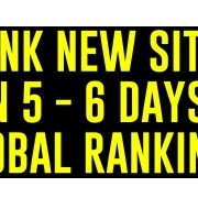 HOW TO RANK NEW WEBSITE IN 5-6 DAYS  (GLOBAL RANKING) | Urdu/Hindi