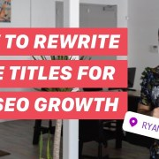 How to RANK Quickly w/ Page Titles (SEO HACK!!!)