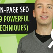 On Page SEO - 9 Actionable Techniques That Work