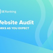 SE Ranking Website audit