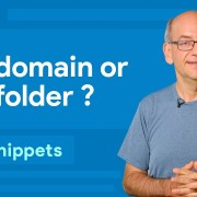 Subdomain or subfolder, which is better for SEO?