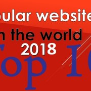 Top 10 Most Visited Website Ranking History (2017-2018) List of most popular websites
