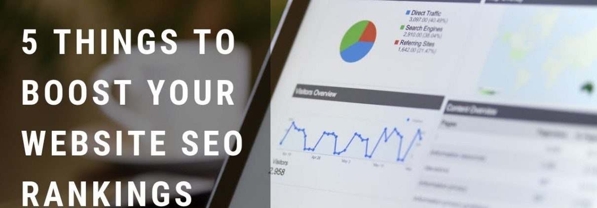 5 things to boost SEO for your website rankings