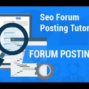 Forum Posting | SEO forum posting tutorial | SEO Tutorial