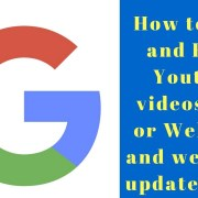 How to Ping and Rank Youtube videos,Blog or Web post and website -updated 2018