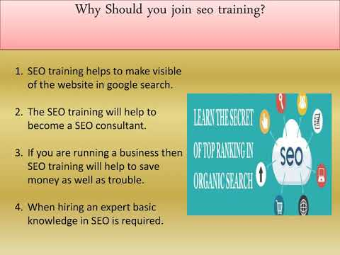 The Benefits of SEO Training  in Achieving Good Rankings for Business Websites