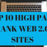 Top 10 High Page Rank Web 2.0 Sites in 2018 - Get Free High Rank Backlinks