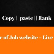 power of Job website- Copy || paste ||  Rank
