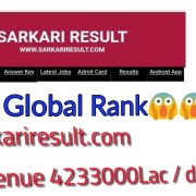sarkariresult revenue/income and rank || How can find any websites income/revenue