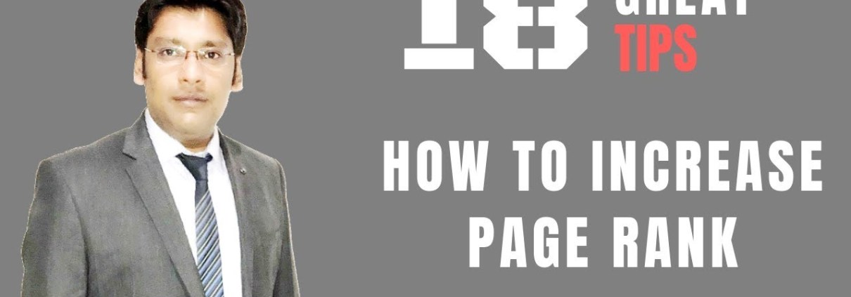 18 Great Tips to Increase Website Page Ranking in Google – Hindi -  Anant Vijay Soni