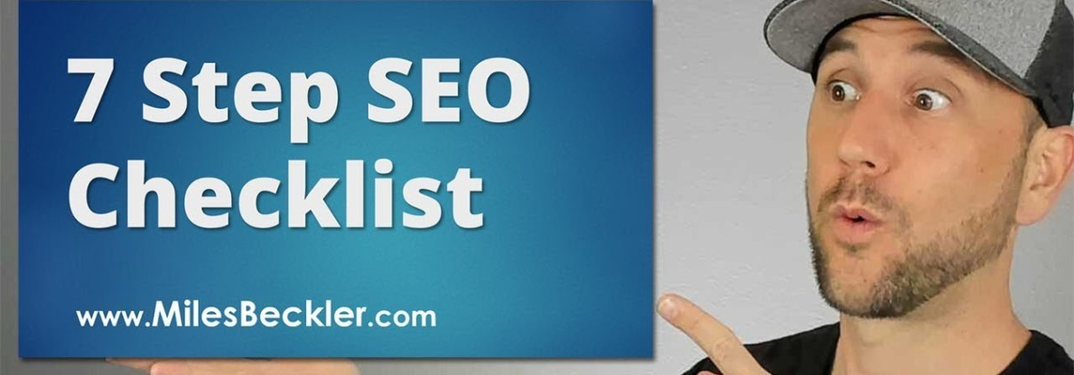 7 Step SEO Checklist For 2019 - The Secret Behind My 14,969,843 Visits From Google Revealed!