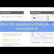 GDoc SEO Assistant: Optimize for SEO inside Google Document