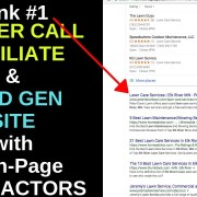 How To Start Ranking Your Pay Per Call Affiliate/Local Lead Gen. Site (8 On-Page SEO Factors)