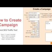 How to Create Campaign - Best SEO Traffic Tool